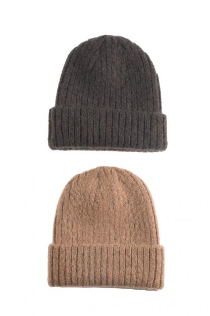 Stevenson Blended Mohair Knit Caps