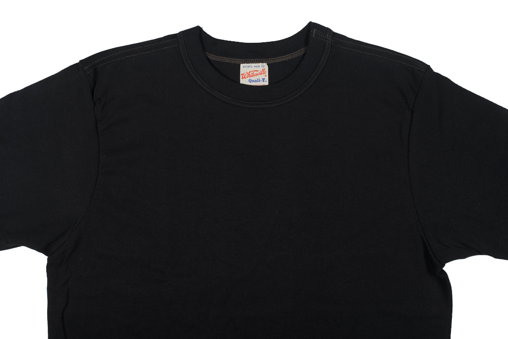 Whitesville Japanese Made T-Shirts - Black (2-Pack) - Image 3