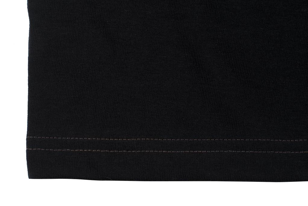 Whitesville Japanese Made T-Shirts - Black (2-Pack) - Image 4