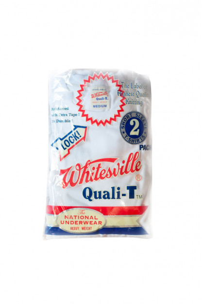 Whitesville Japanese Made T-Shirts - White (2-Pack)