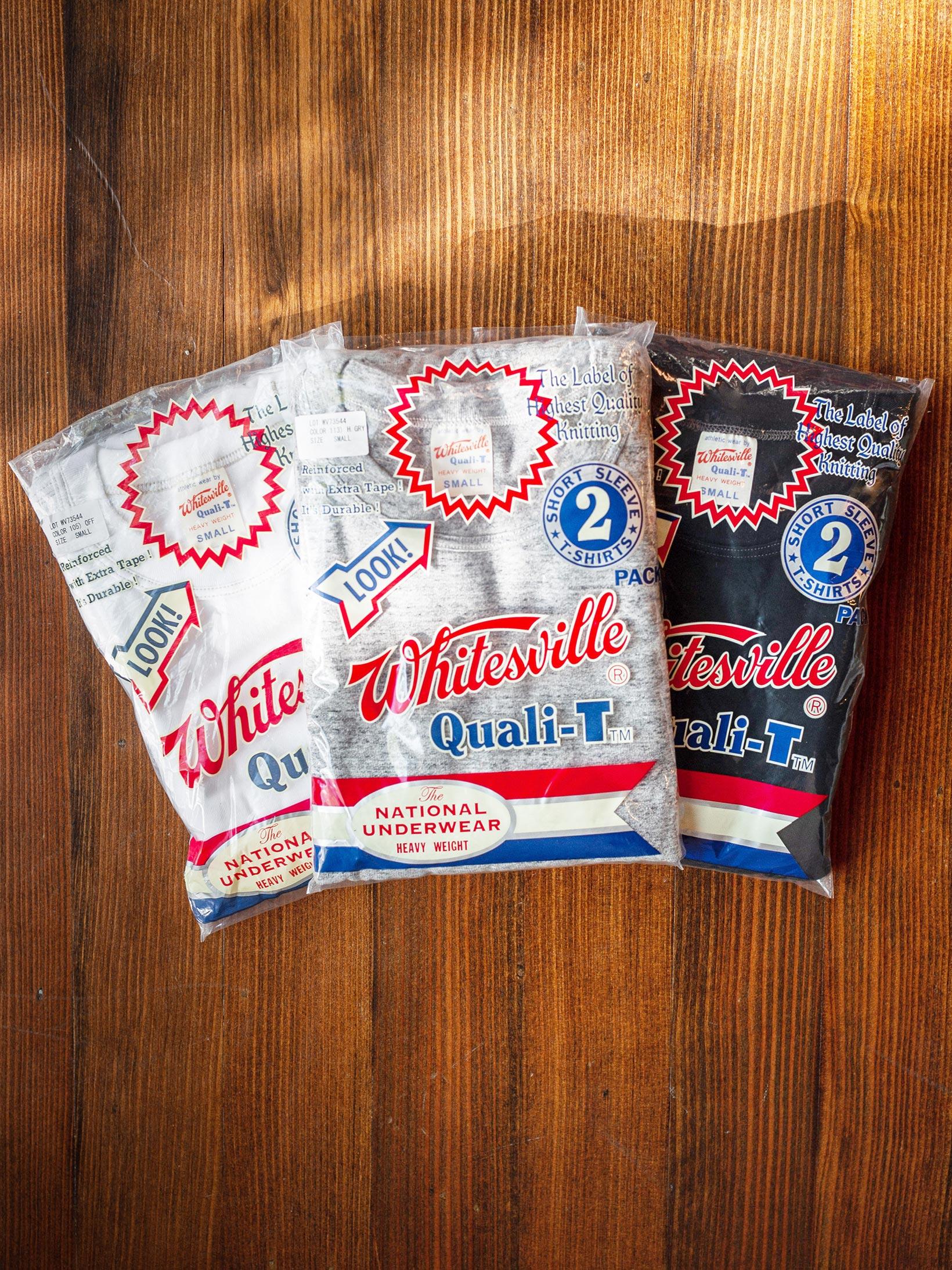 Whitesville Japanese Made T-Shirts - White (2-Pack) - Image 6