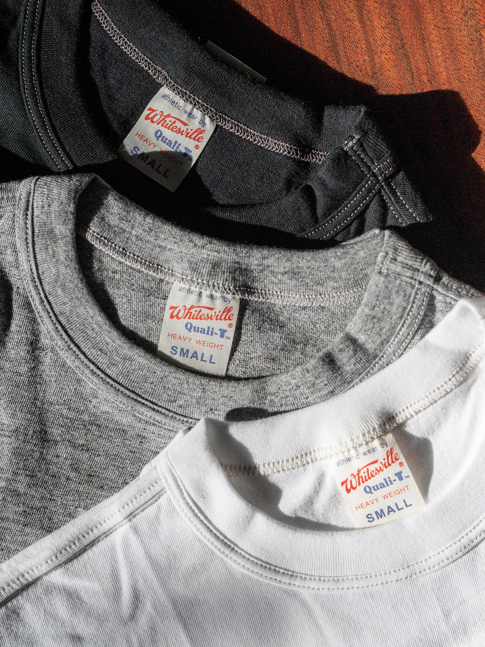 Whitesville Japanese Made T-Shirts - White (2-Pack) - Image 9