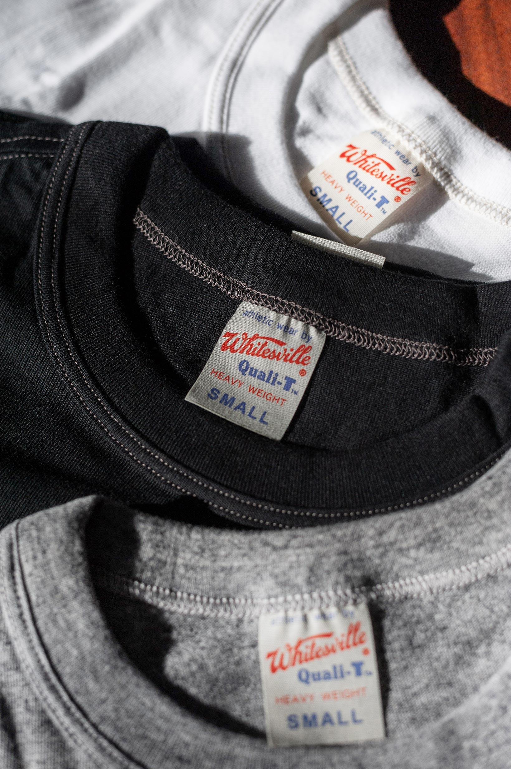 Whitesville Japanese Made T-Shirts - White (2-Pack) - Image 10