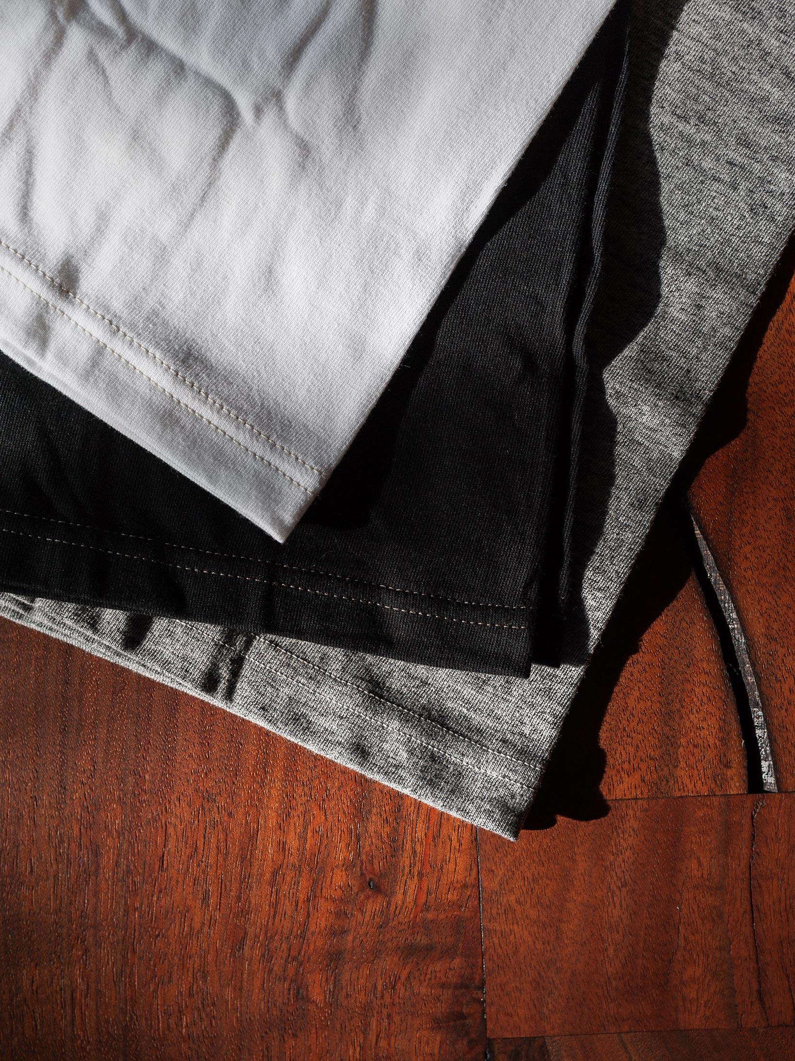 Whitesville Japanese Made T-Shirts - White (2-Pack) - Image 11