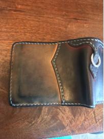 Flat Head Wild Child Leather & Cordovan Wallet - Tan - Image 14