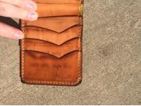 Flat Head Wild Child Leather & Cordovan Wallet - Tan - Image 13