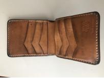 Flat Head Wild Child Leather & Cordovan Wallet - Tan - Image 10
