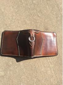 Flat Head Wild Child Leather & Cordovan Wallet - Tan - Image 11