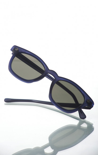 American Optical Modified Sunglasses - Blasted Blue