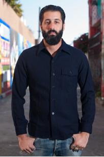 Buzz Rickson Navy Wool Flannel CPO Shirt - Image 0