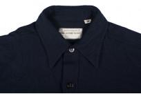 Buzz Rickson Navy Wool Flannel CPO Shirt - Image 3