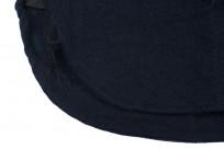 Buzz Rickson Navy Wool Flannel CPO Shirt - Image 5