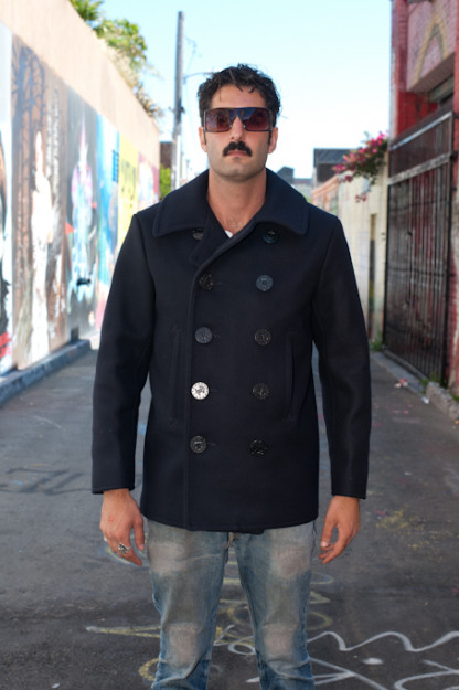 Buzz Rickson Navy Pea Coat - USN 1910's Model