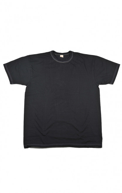 Flat Head Blank Heavyweight T-Shirt - Black