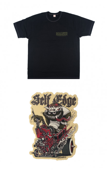 Flat Head x Self Edge x Florian Bertmer Hot Roddin' Union Special T-Shirt