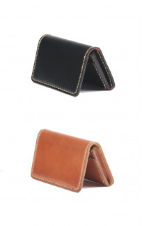 Flat Head Hand-Sewn Cordovan Wallet - Image 0