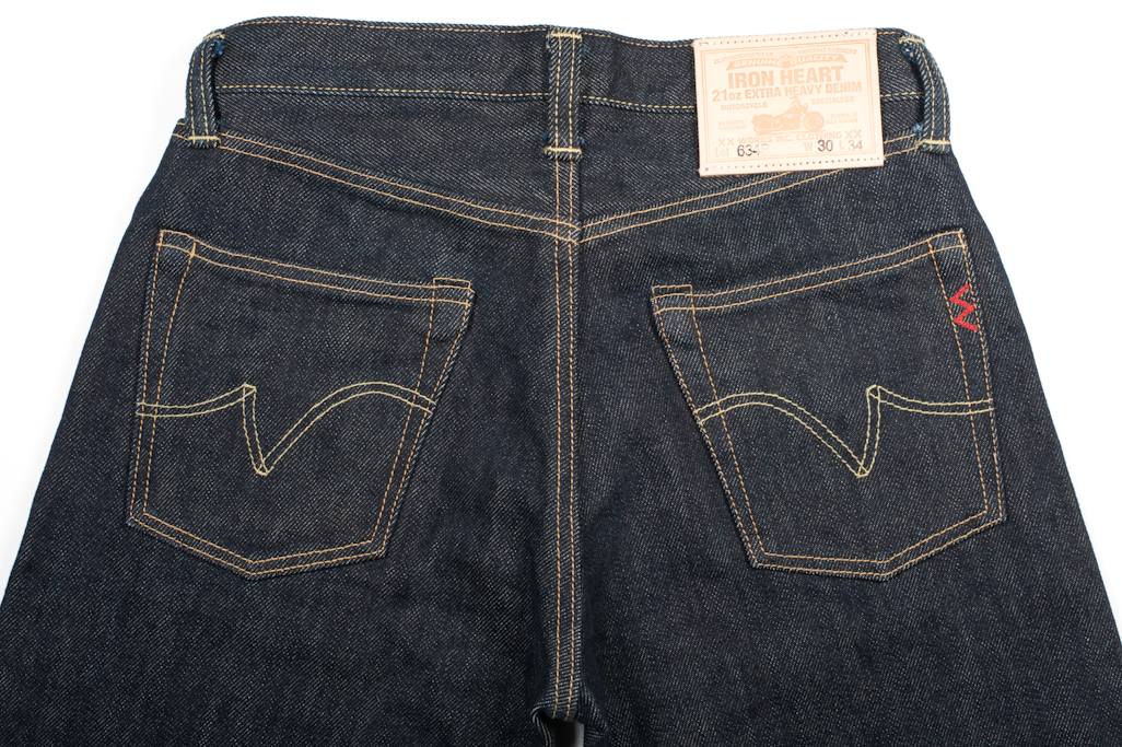 Iron Heart 634s Selvedge Jean - Image 2