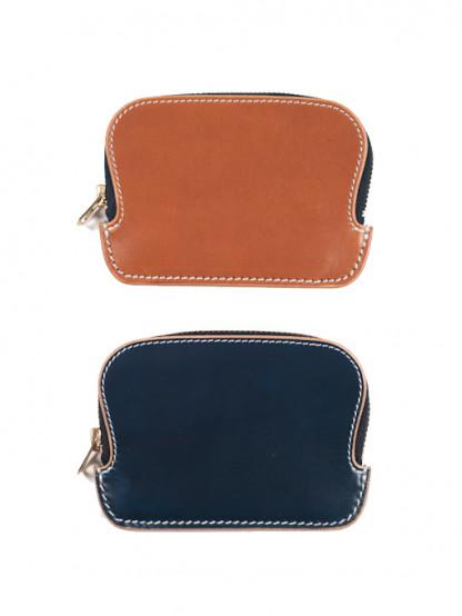 Iron Heart Zippered Cowhide Wallet