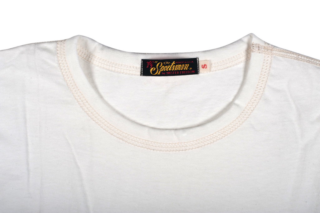 be25a54cf3c Mister Freedom Blank White T-Shirt