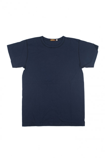 Mister Freedom Blank T-Shirt - Navy Blue