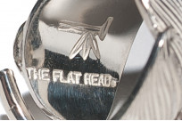 Flat Head Silver Feather Ring - Image 2