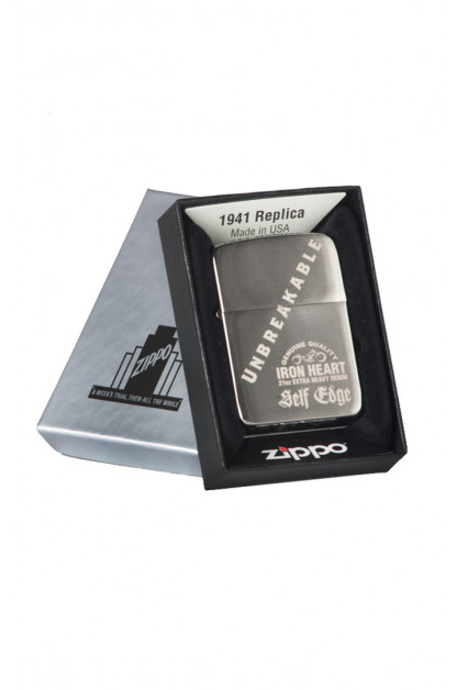 Self Edge x Iron Heart Zippo 1941 Repro Lighter - Unbreakable