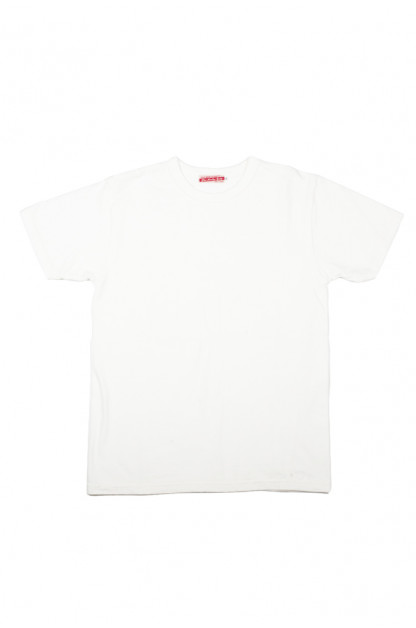 Strike Gold Blank Loopwheeled T-Shirt - White