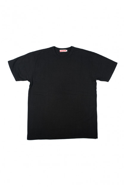Strike Gold Blank Loopwheeled T-Shirt - Black