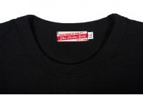 Strike Gold Blank Loopwheeled T-Shirt - Black - Image 4