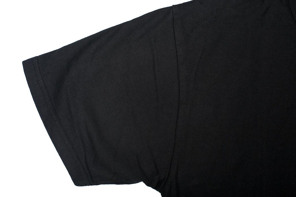 Strike Gold Blank Loopwheeled T-Shirt - Black - Image 3