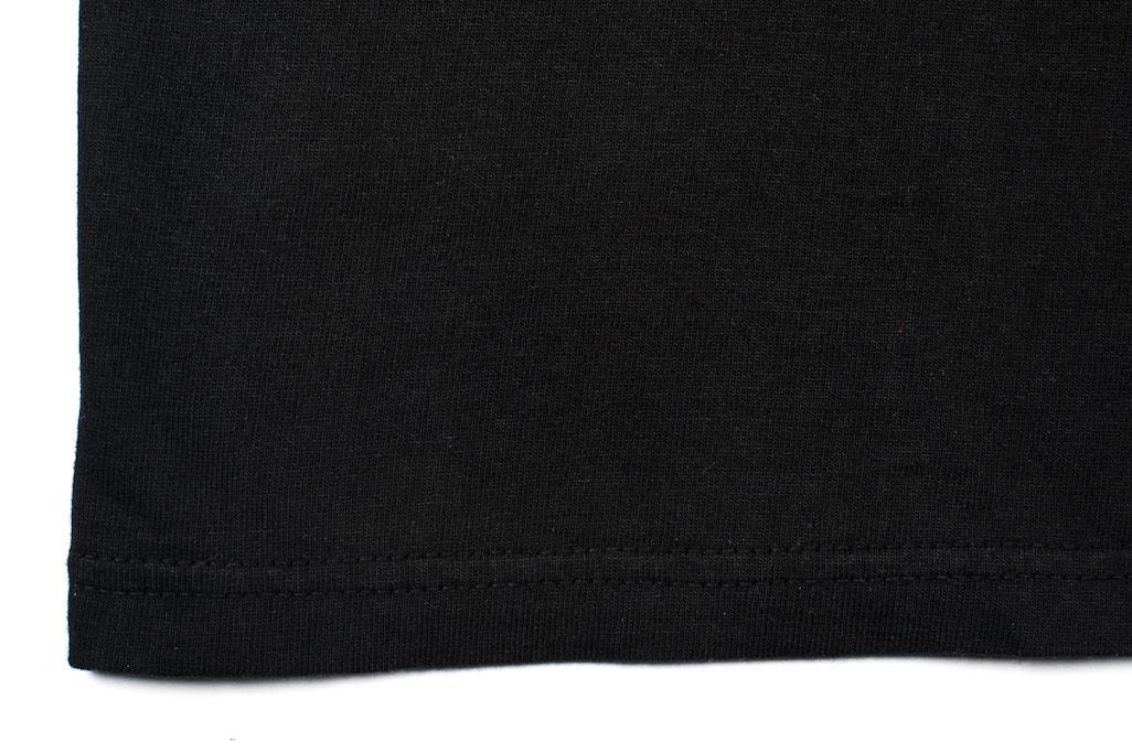 Strike Gold Blank Loopwheeled T-Shirt - Black - Image 2
