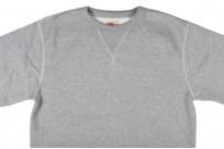 Strike Gold Heavy Loopwheeled Sweatshirt - Heather Gray - Image 3