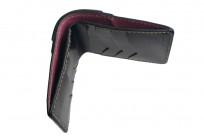Flat Head Wild Child Leather & Cordovan Wallet - Black - Image 6