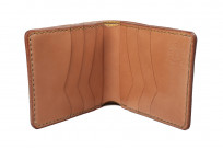 Flat Head Wild Child Leather & Cordovan Wallet - Tan - Image 7