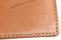 Flat Head Wild Child Leather & Cordovan Wallet - Tan - Image 1
