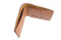 Flat Head Wild Child Leather & Cordovan Wallet - Tan - Image 6