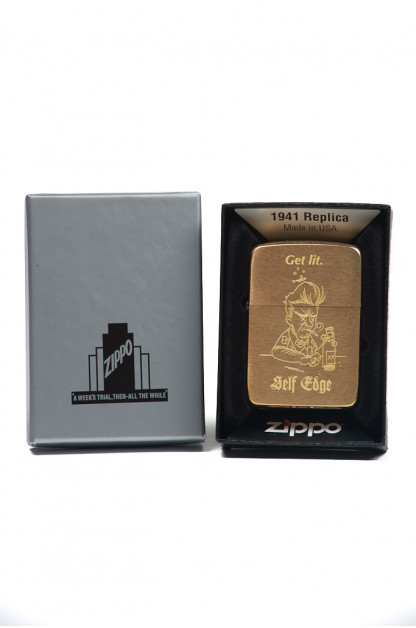 Self Edge Zippo Vintage 1941 Repro Lighter - Get Lit